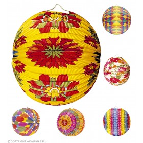 Paperball Printed Decs Diam 33Cm 6Styles - Fancy Dress
