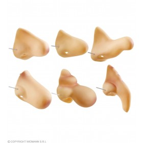 Noses 6 Styles Ass. - Fancy Dress (1 Supplied)