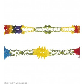 Jumbo Paper Garland 10Mtr Diam 26Cm - Fancy Dress