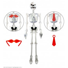 Inflatable Maxi Skeleton 183Cm - Fancy Dress (Halloween)