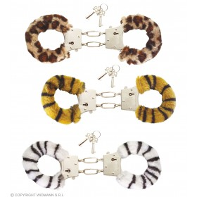 Furry Handcuffs 3 Styles - Fancy Dress
