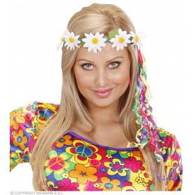 Daisy Diademes With Multi Ribbons - Fancy Dress