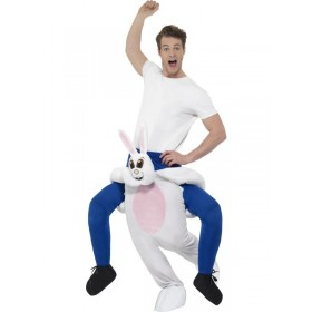 Piggyback Rabbit Fancy Dress Costume