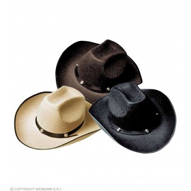 Felt Cowboy Hat W/Bolt - Fancy Dress (Cowboys/Native Americans)