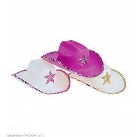 Sequin Decorated Cowboy Hat - Fancy Dress (Cowboys/Native Americans)