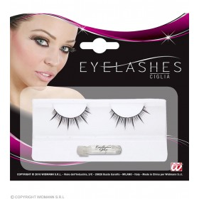 Eyelashes Long Spikes Black - Fancy Dress