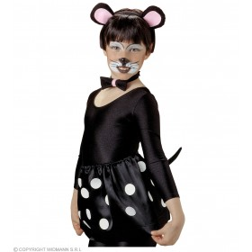Mouse Kit Child - Fancy Dress Girls (Animals)