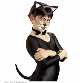 Cat Set Child - Fancy Dress Girls