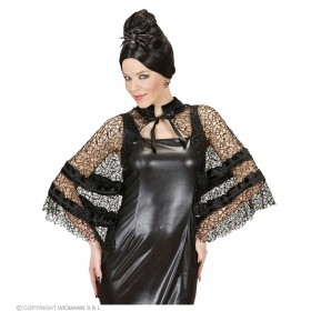 Black Widow Capelet Other