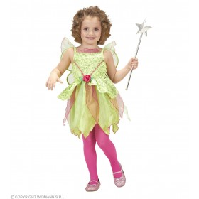 Girls Magic Fairy (110Cm &116Cm) (Dress Wings) Fairy Tales Outfit - (Green)