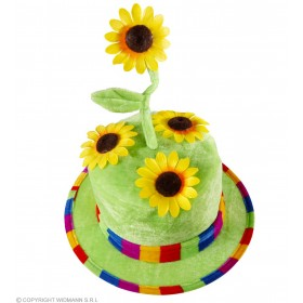 Velvet Sunflower Hat - Fancy Dress