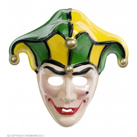 Jolly Joker Masks - Fancy Dress
