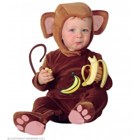 Baby Monkey Cutie Fancy Dress Costume Age 1-2 (Animals)