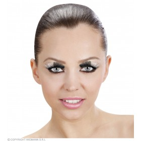 Bicolour Metallic Eyelashes - Fancy Dress