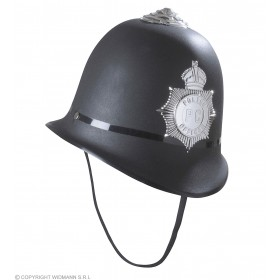 Hard Plastic Policeman Hat - Fancy Dress (Cops/Robbers)