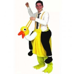 Crazy Ostrich Fancy Dress (Animals)