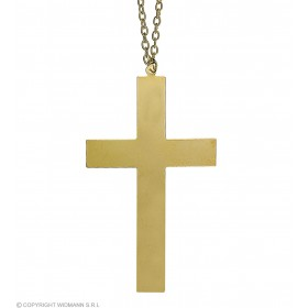 Gold Cross Necklaces - Fancy Dress (Christmas)