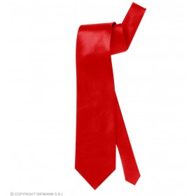Necktie Satin Red - Fancy Dress