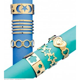 Forearm Bracelet 6 Styles Asstd - Fancy Dress