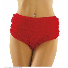 Lace Panties Red S/M/L Fancy Dress Costume