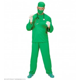 Xl Surgeon Costume Fancy Dress Costume Mens Size 46-48 (Doctors/Nurses)