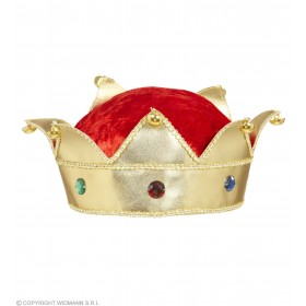 King & Queen Crowns With Gems - Fancy Dress (Royalty)