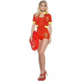 Baywatch Lifeguard Fancy Dress Costume Ladies (Sexy)