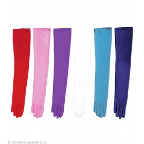 Cotton Gloves Coloured Asstd - Fancy Dress