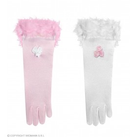Gloves Glamour Girl Satin - Fancy Dress Ladies