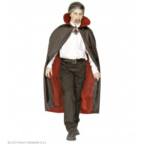 Child Deluxe Lined Cape & Collar 115Cm Costume Boys (Halloween)