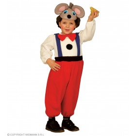 Comic Mouse Costume Kids Costume Kids Age 3-4 (Animals)