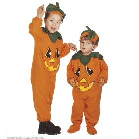 Pumpkin - Jumpsuit & Headpiece, Costume Age 2-3 (Food)