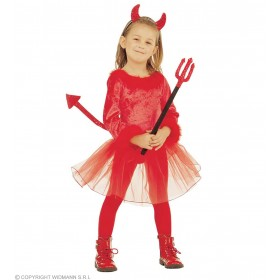 Little Devil Girl Fancy Dress Girls (Halloween)