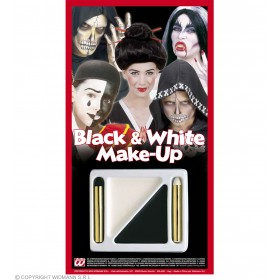 Makeup Black/White Kit - Fancy Dress