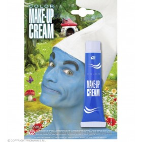 Adult Unisex Makeup Tube Blue Makeup - (Blue)