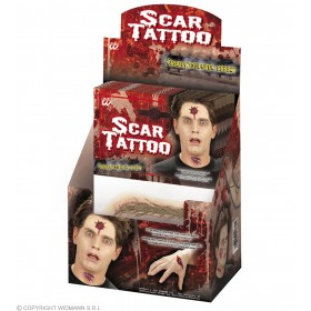 Scar Tattoos - Fancy Dress