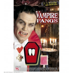 Vampire Teeth Kit Professional - Fancy Dress (Halloween)
