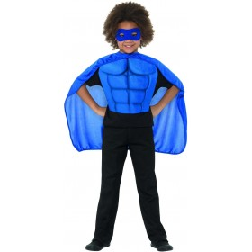 Kids Superhero Kit Blue Sci-Fi Fancy Dress