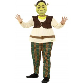 Shrek Kids Deluxe Fancy Dress Costume Film (Official Licensed)