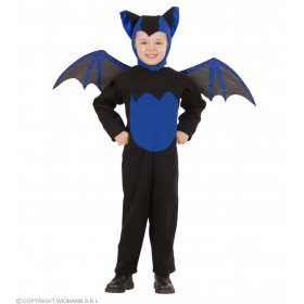 Bat - Jumpsuit, Headpiece, Wings Fancy Dress Boys