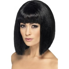 Coquette Wig - Fancy Dress  - Black