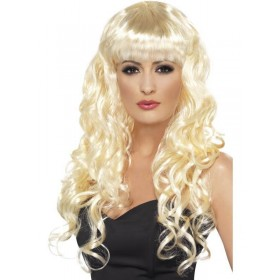 Siren Wig - Fancy Dress Ladies - Blonde