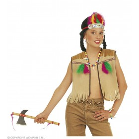 Native American Dress Up Set Childs Fancy Dress Costume (Cowboys/Native Americans)
