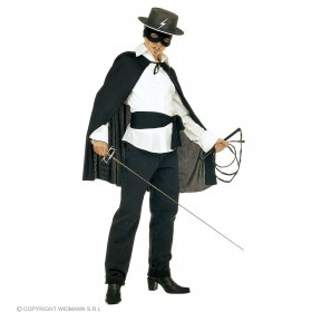 Black Bandit Accessory Set - Fancy Dress