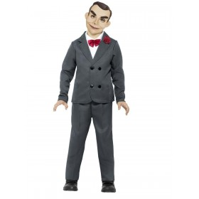 Goosebumps Slappy the Dummy Fancy Dress Costume Halloween (Official Licensed)