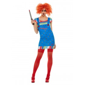 Chucky Fancy Dress Costume Halloween (Official Licensed)
