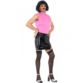 Queen Freddie Mercury, Breakfree Tarty Housewife Fancy Dress Costume