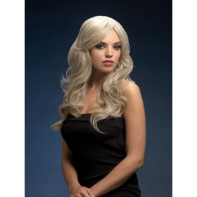 Fever Nicole Fancy Dress Wig - Silver Blonde