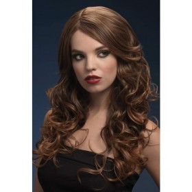 Fever Nicole Fancy Dress Wig - Brown