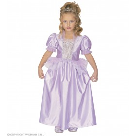 Purple Princess & Dress Fancy Dress Age 4-5 Girls (Royalty)